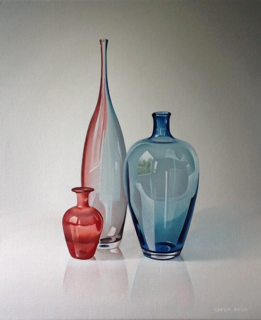 Drie-glazen-vazen-blauw-rood-60x50cm.